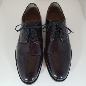 Mens Johnston & Murphy Cap Toe Dress Shoe 10.5D